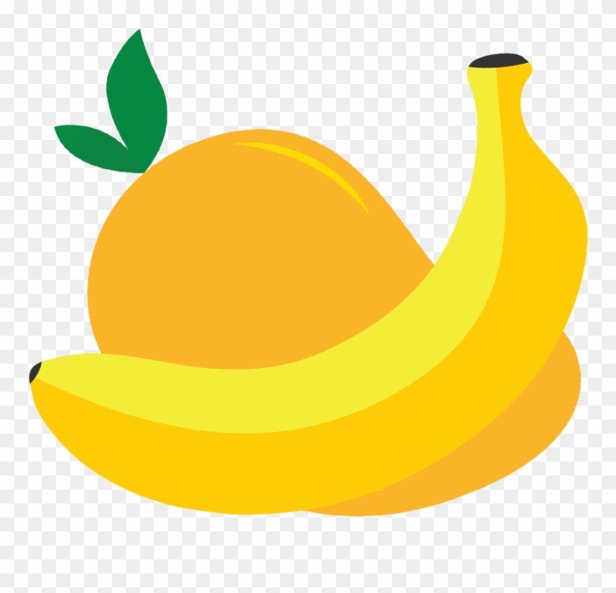 Mango clipart banana. Filo mylo mix pinclipart
