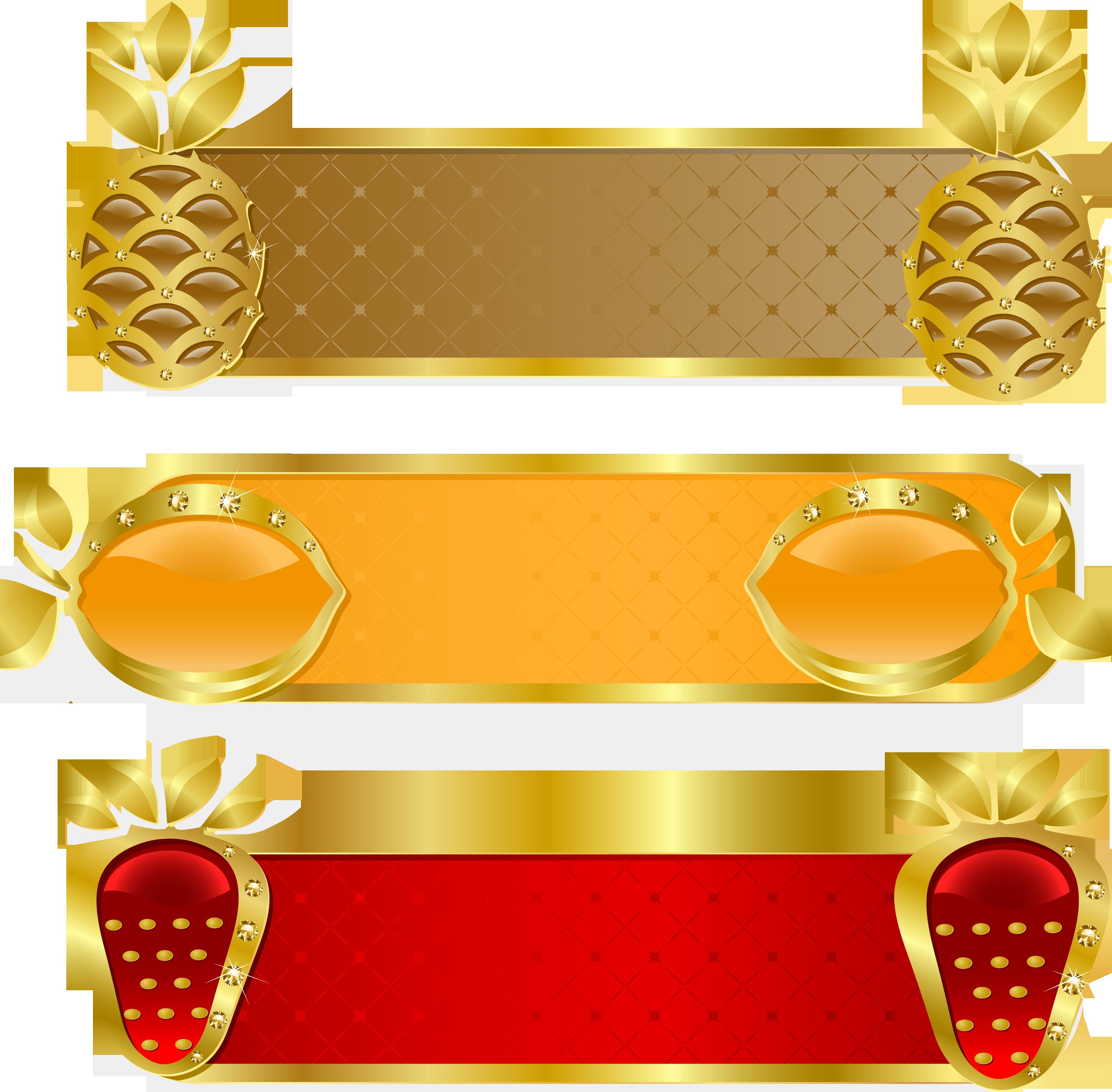 clipart pineapple frame