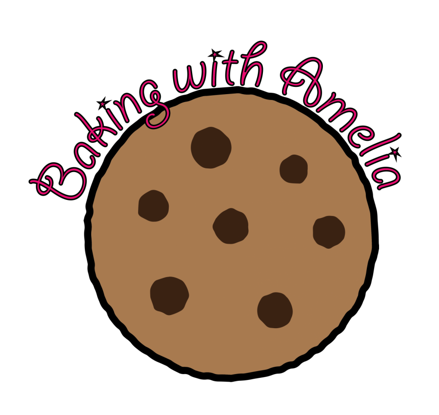 Baking with amelia almond. Flour clipart sugar cookie
