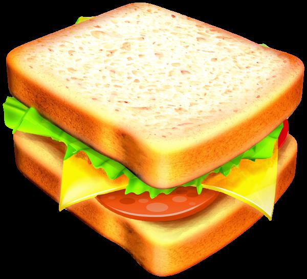 Sandwich transparent png image. Ham clipart sandwhich