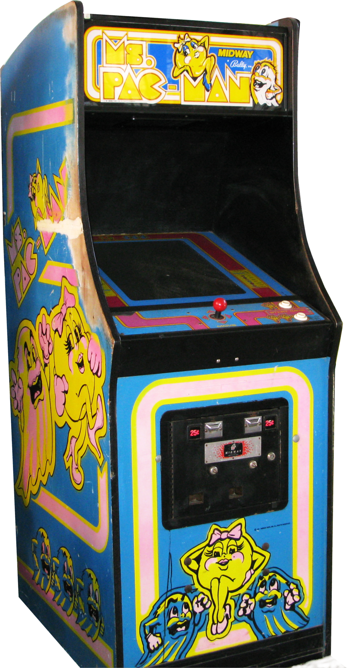 Ms pac man wikipedia. Game clipart arcade