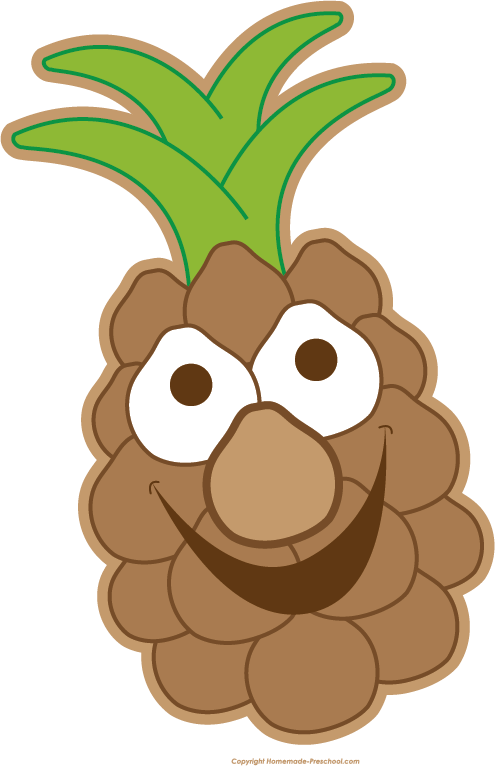 Free fruit click to. Pineapple clipart head