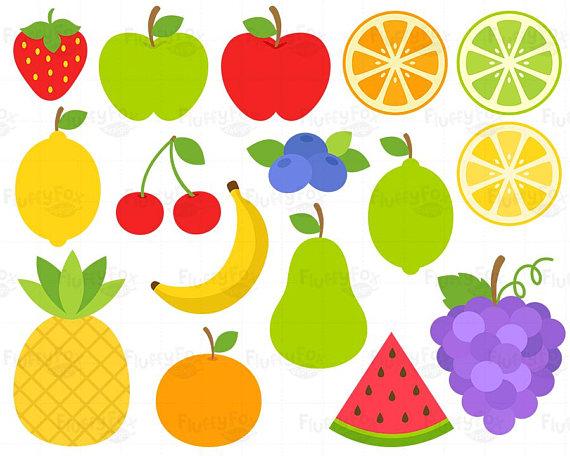 Fruits fruit clip art. Lemons clipart cherry