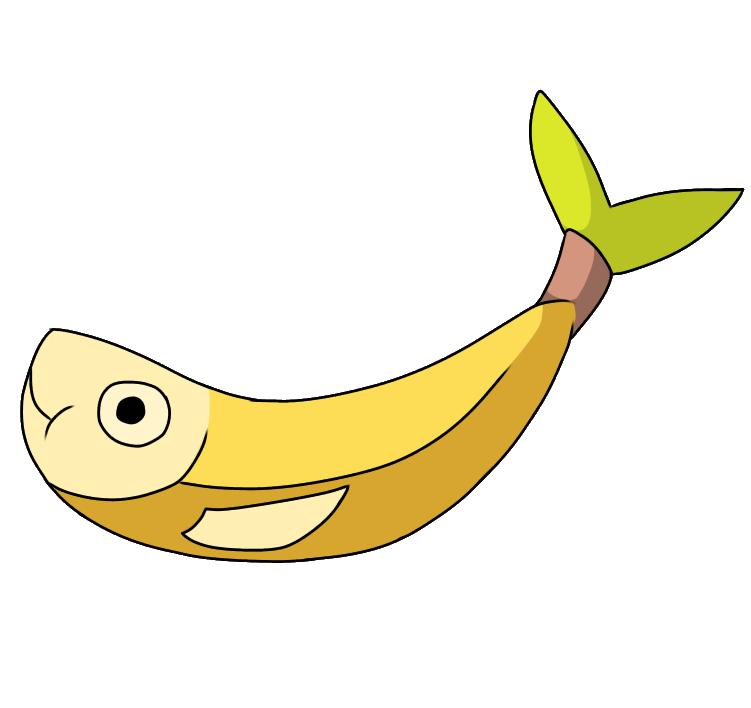 Banana shadow