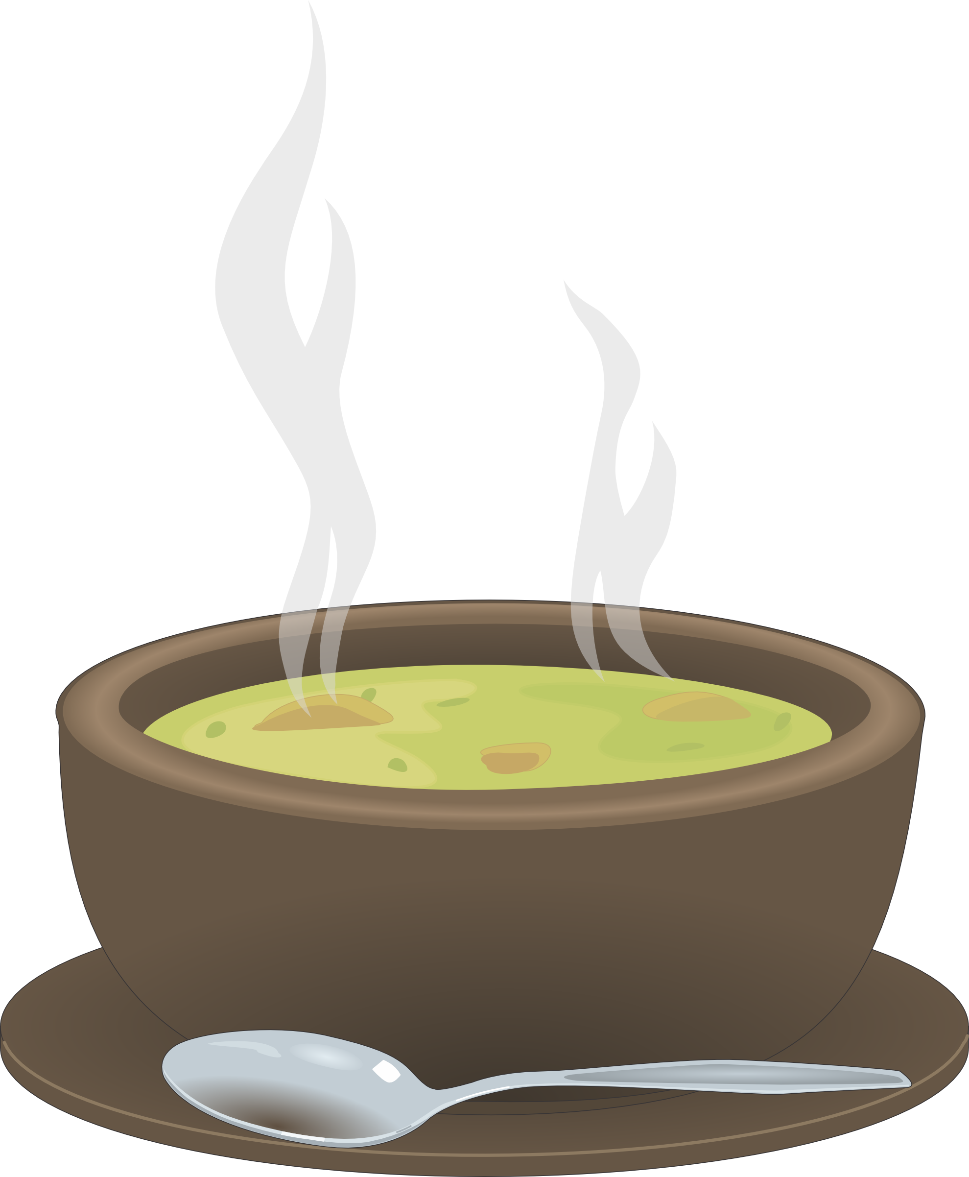 Menu for ash wednesday. Soup clipart fried rice