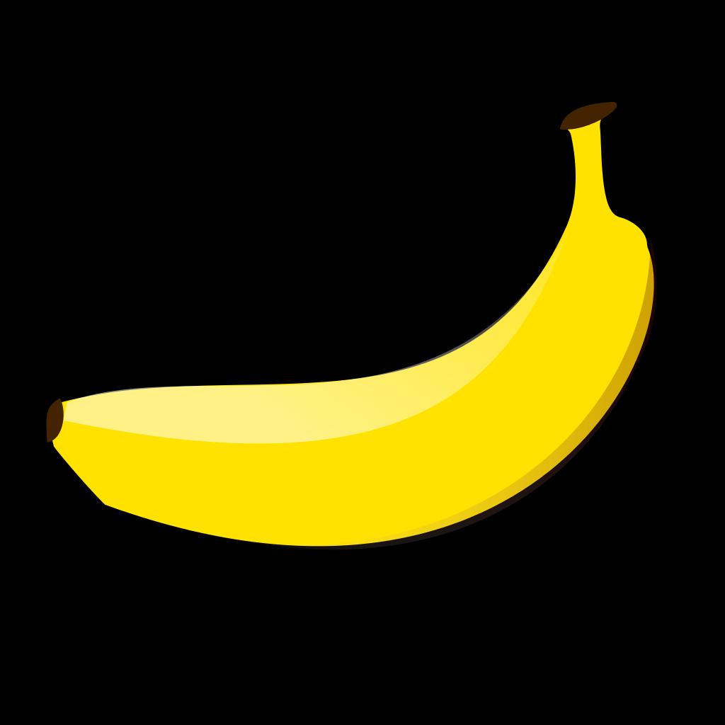 clipart banana svg