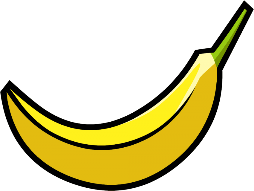Clipart banana transparent background. S png free images