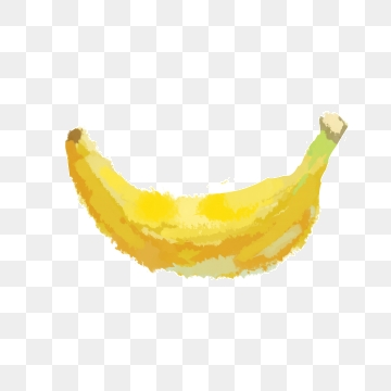 Png vector psd and. Clipart banana yellow food