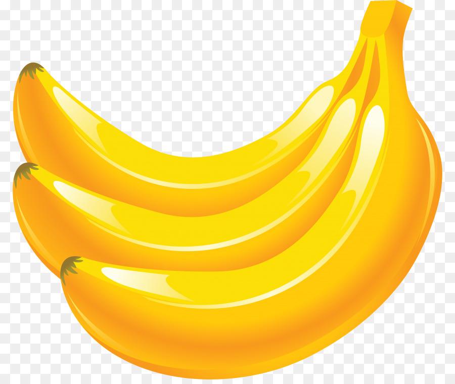 Transparent . Clipart banana yellow food