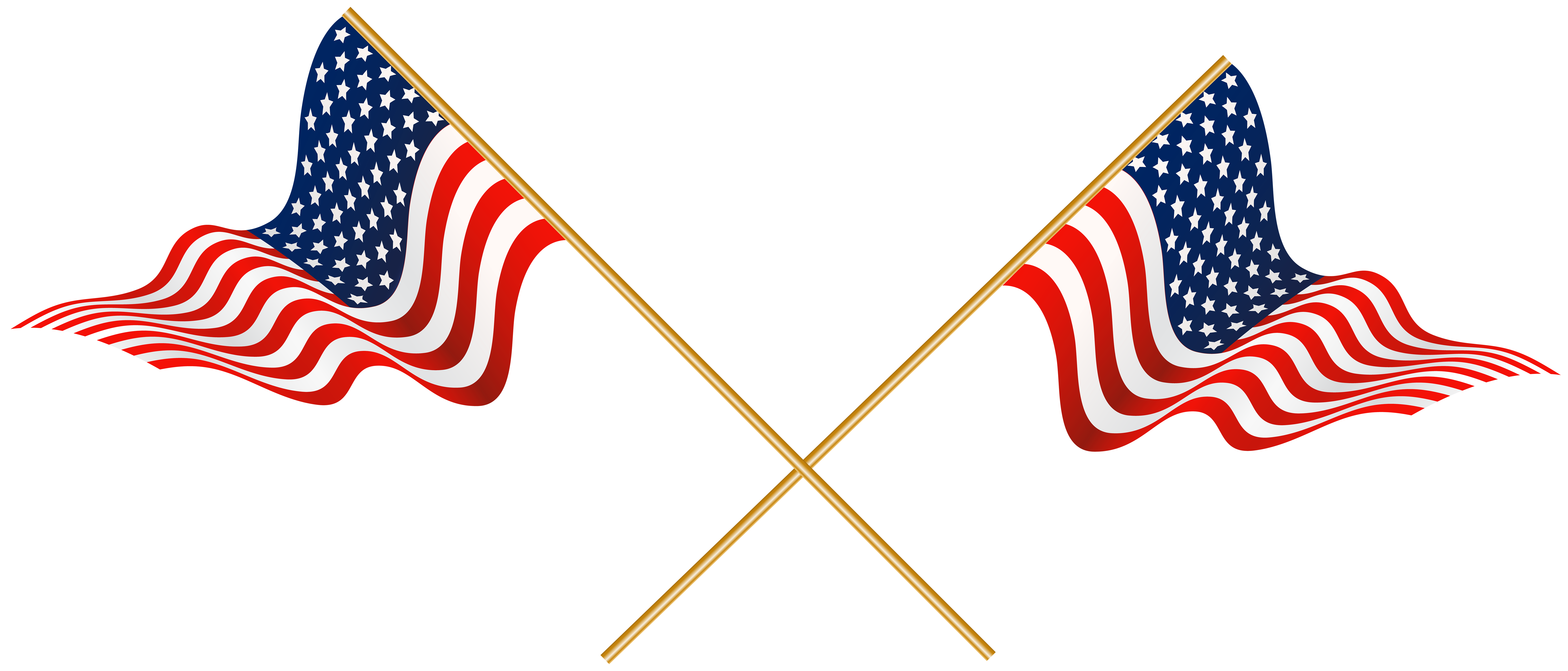 Clipart bow flag american. Usa crossed flags transparent