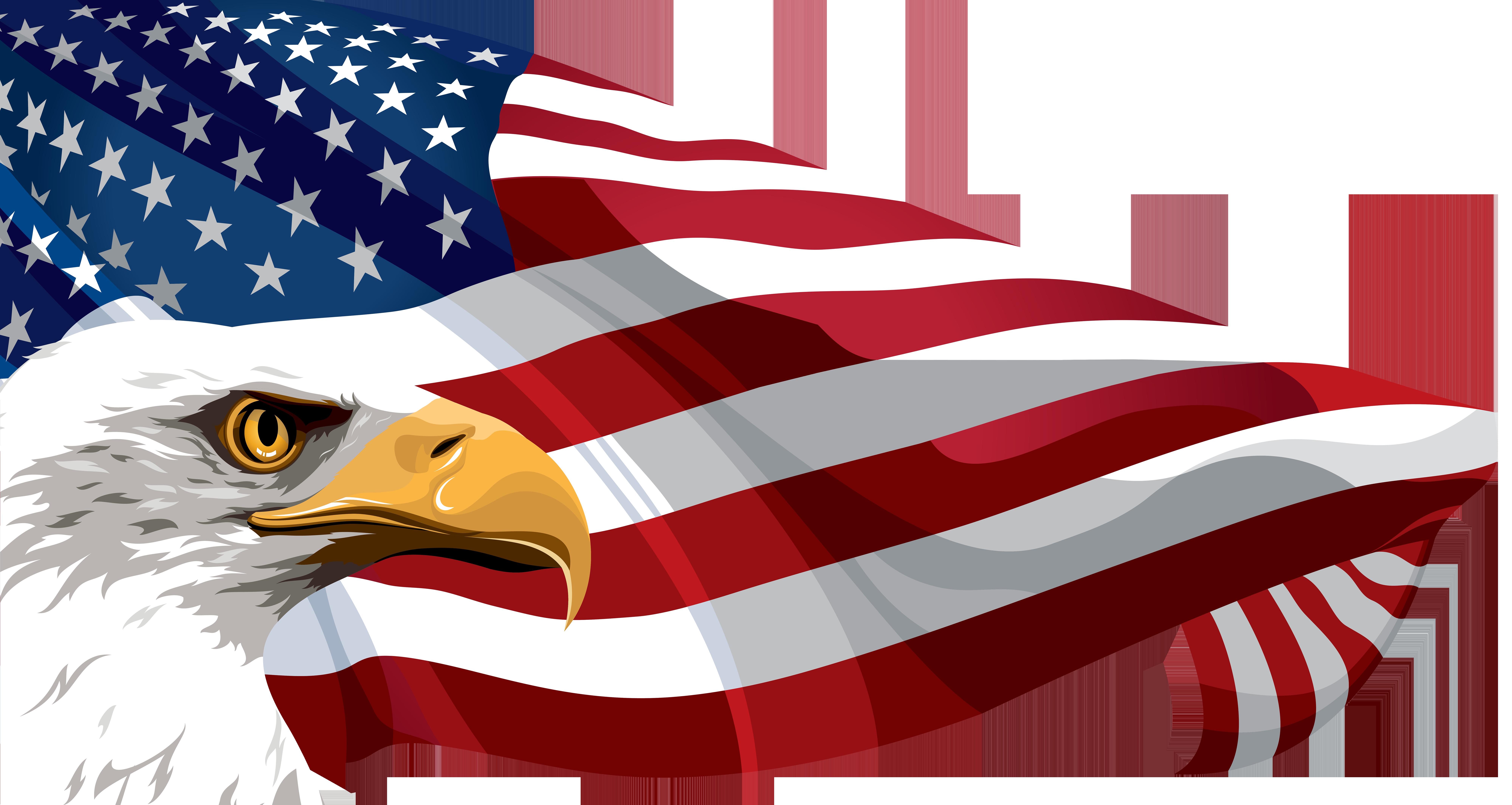 American flag clip art. Graph clipart high demand