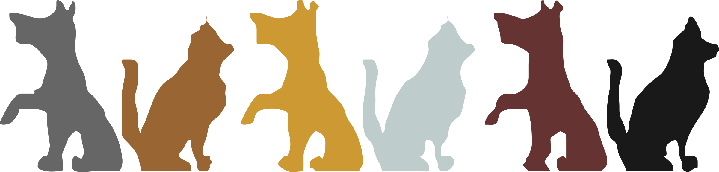 Pet clipart frame. Cat and dog free