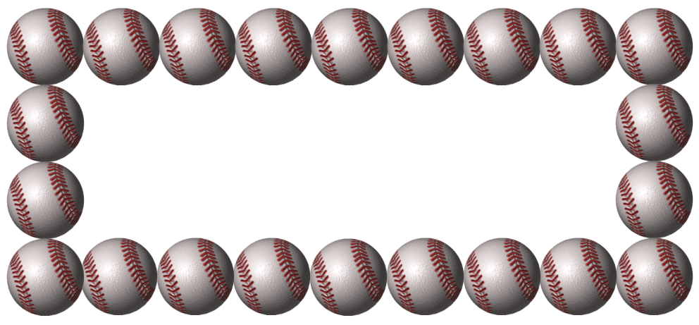 Clipart banner baseball.  collection of free