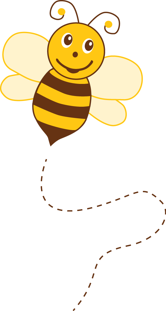 Number 4 clipart bee. Photo by kammytroquinhas minus