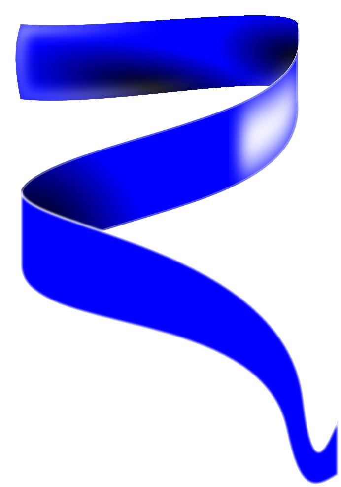Blue ribbon banner panda. Navy clipart powerpoint