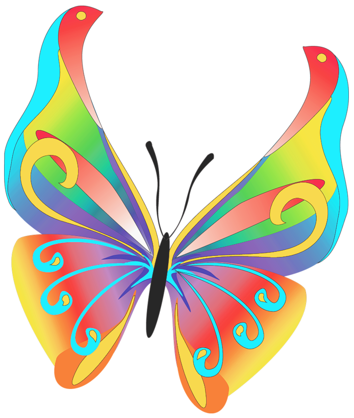 Art png gallery yopriceville. Galaxy clipart butterfly