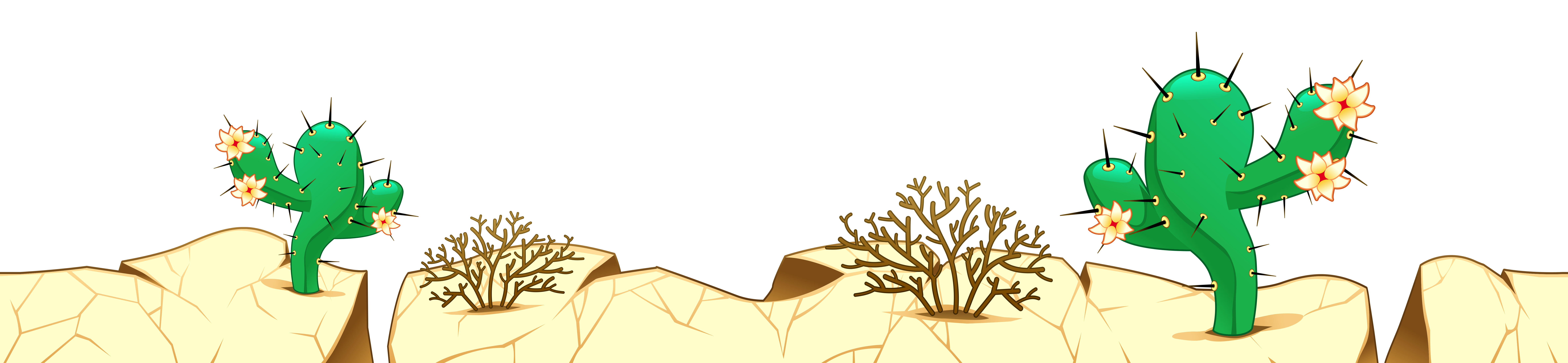 collection of desert. Clipart rock ground