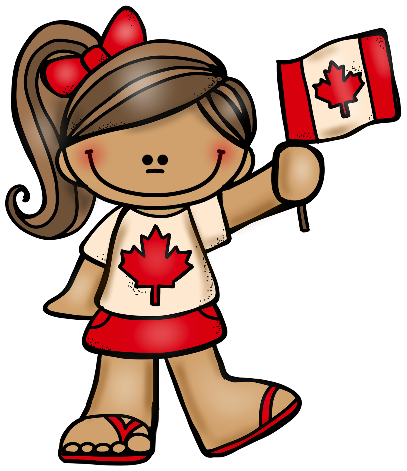 Free st is canada. July clipart person canadian