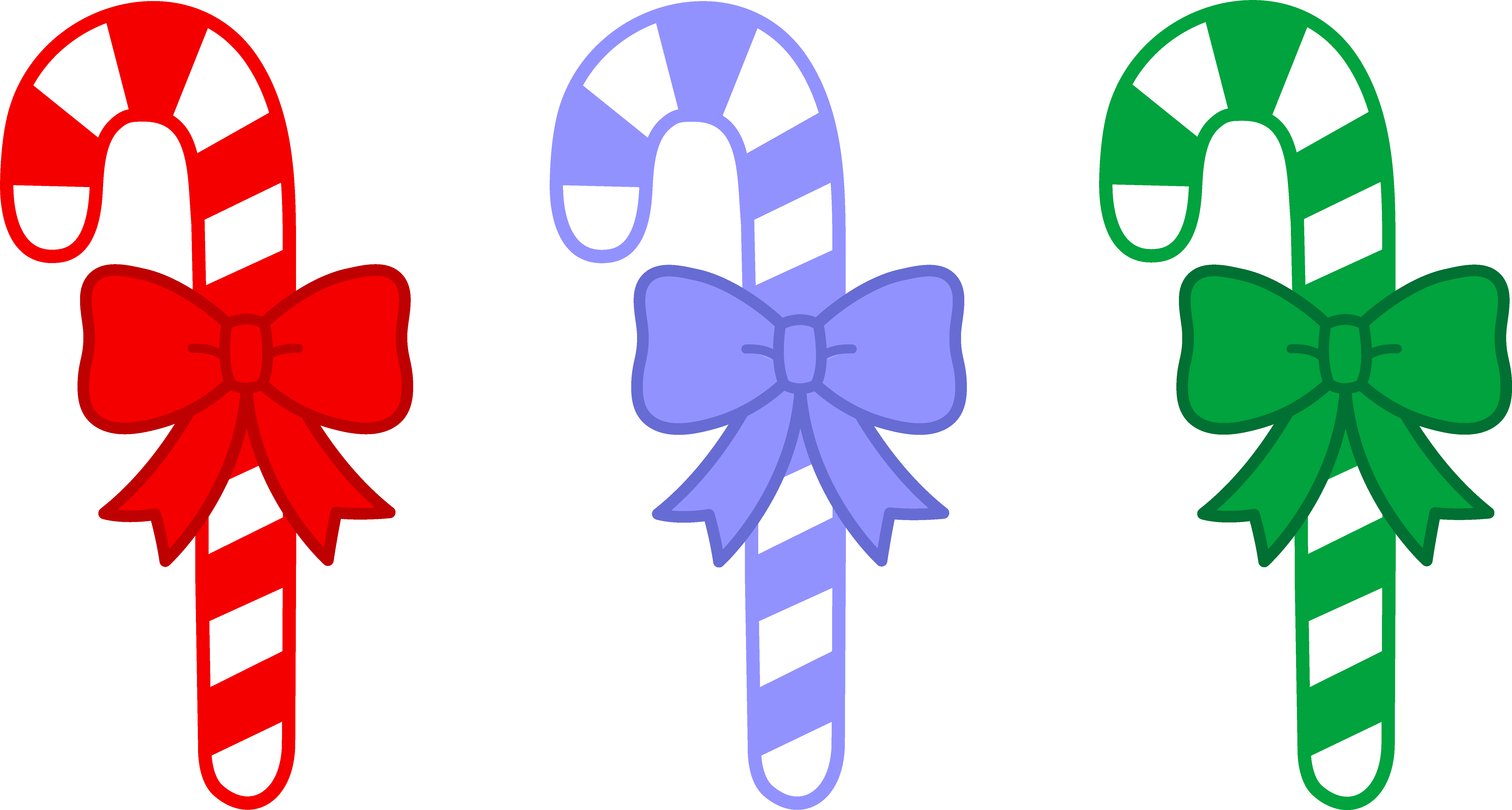 collection of christmas. Group clipart candy