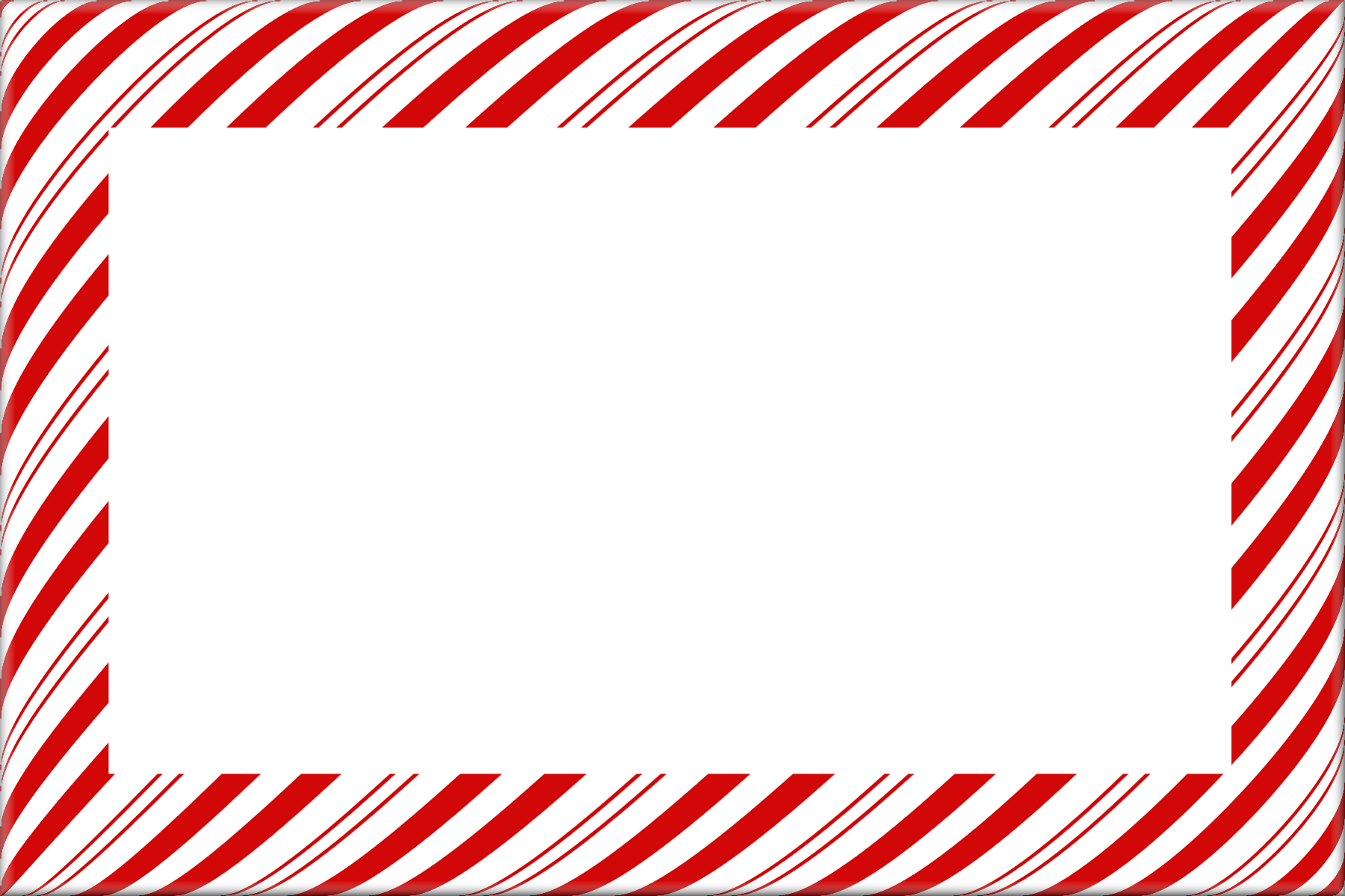 Surprise clipart border. Candy cane christmas borders