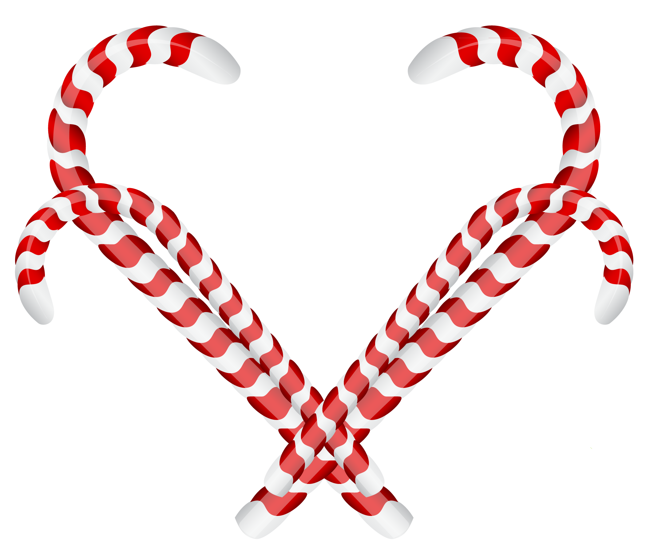 Clipart hearts christmas. Candy cane ornament png