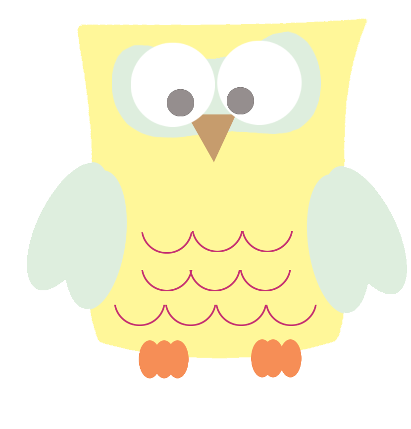 Clip art funny yellow. Clipart face owl