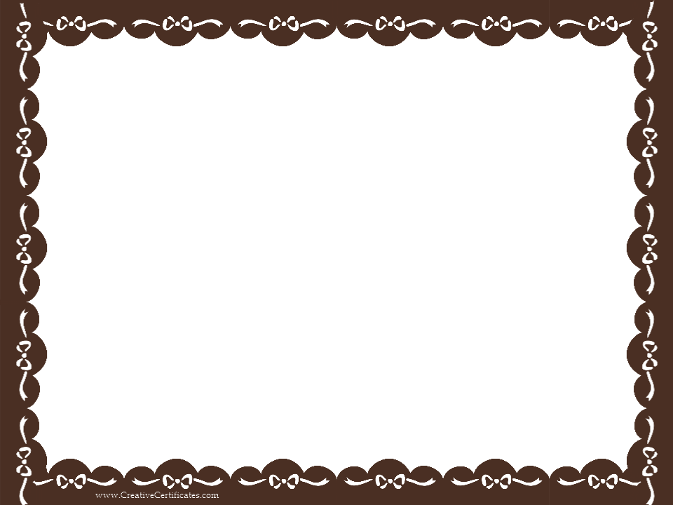 Brown pinterest browncertificateborderpng . Certificate border png