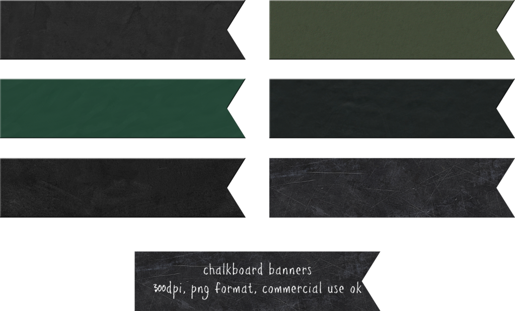 Banners by hggraphicdesigns on. Pencil clipart chalkboard