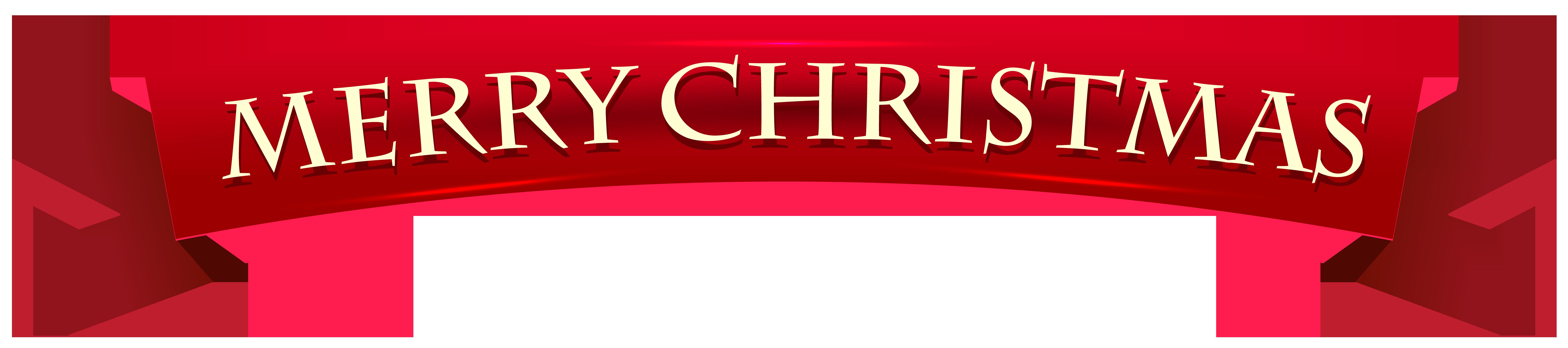 Banner merry christmas transparent. Ornament clipart buffet