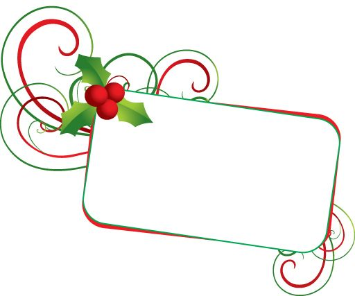 Free christmas clip art. Holly clipart banner