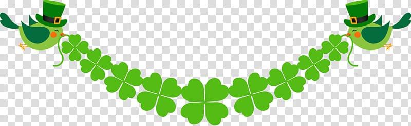 Saint patricks day luck. Clover clipart banner