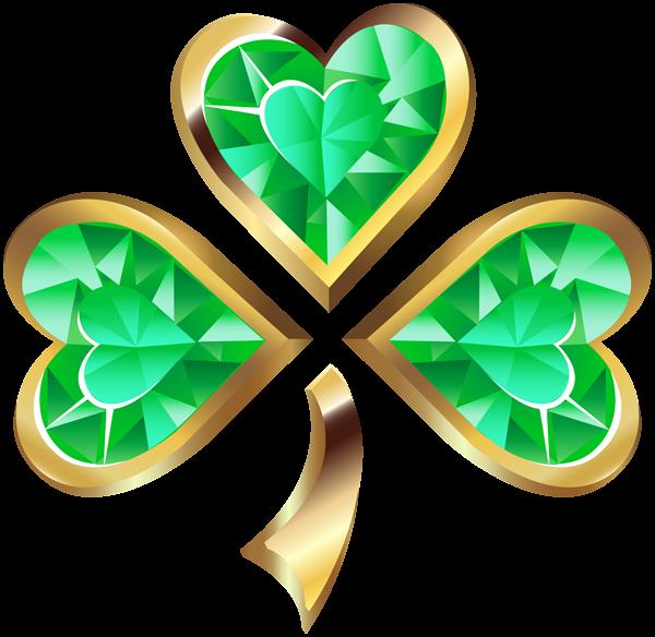 Irish clipart shamrock. Diamond transparent png clip