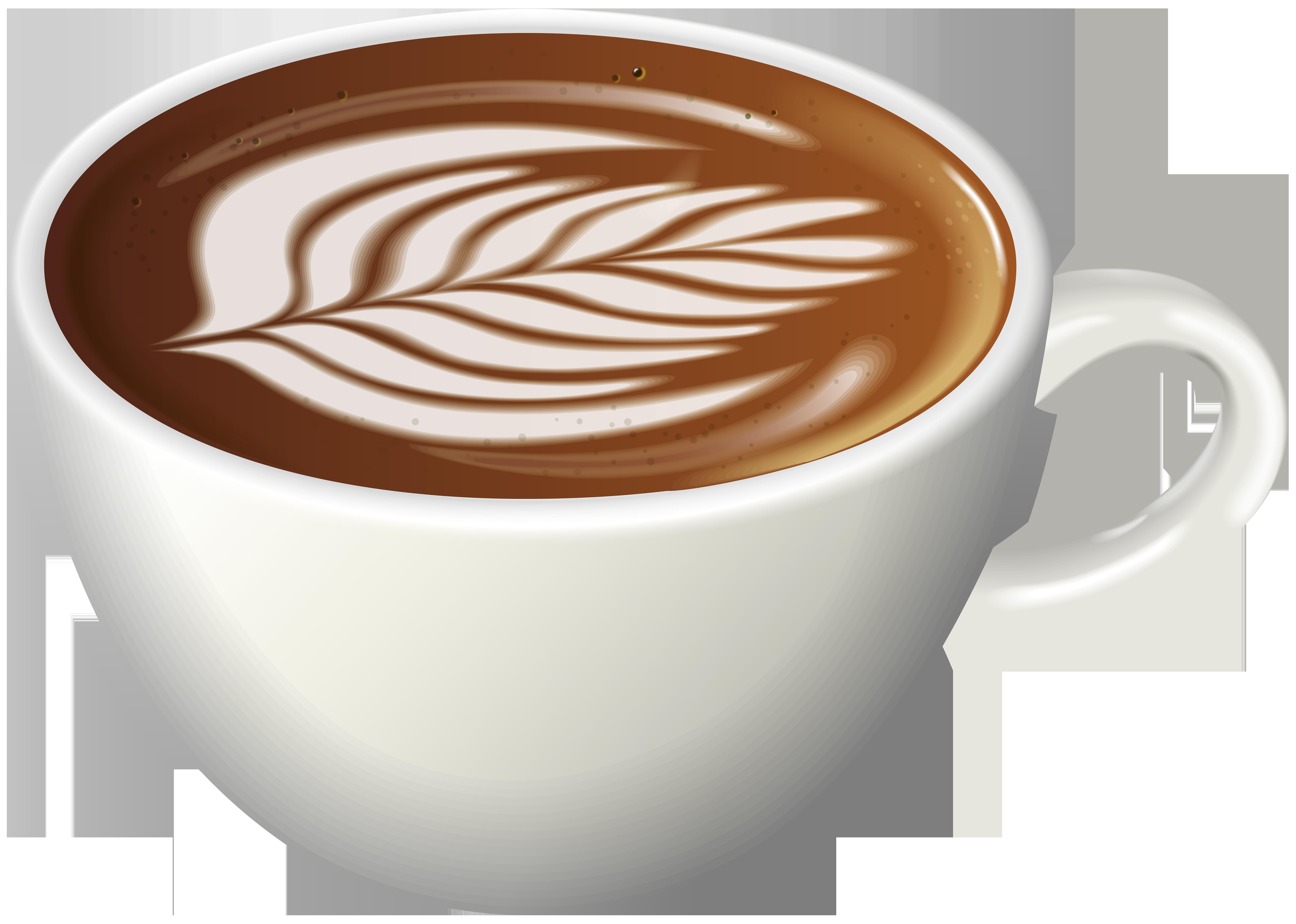 Latte art png clip. Clipart coffee espresso