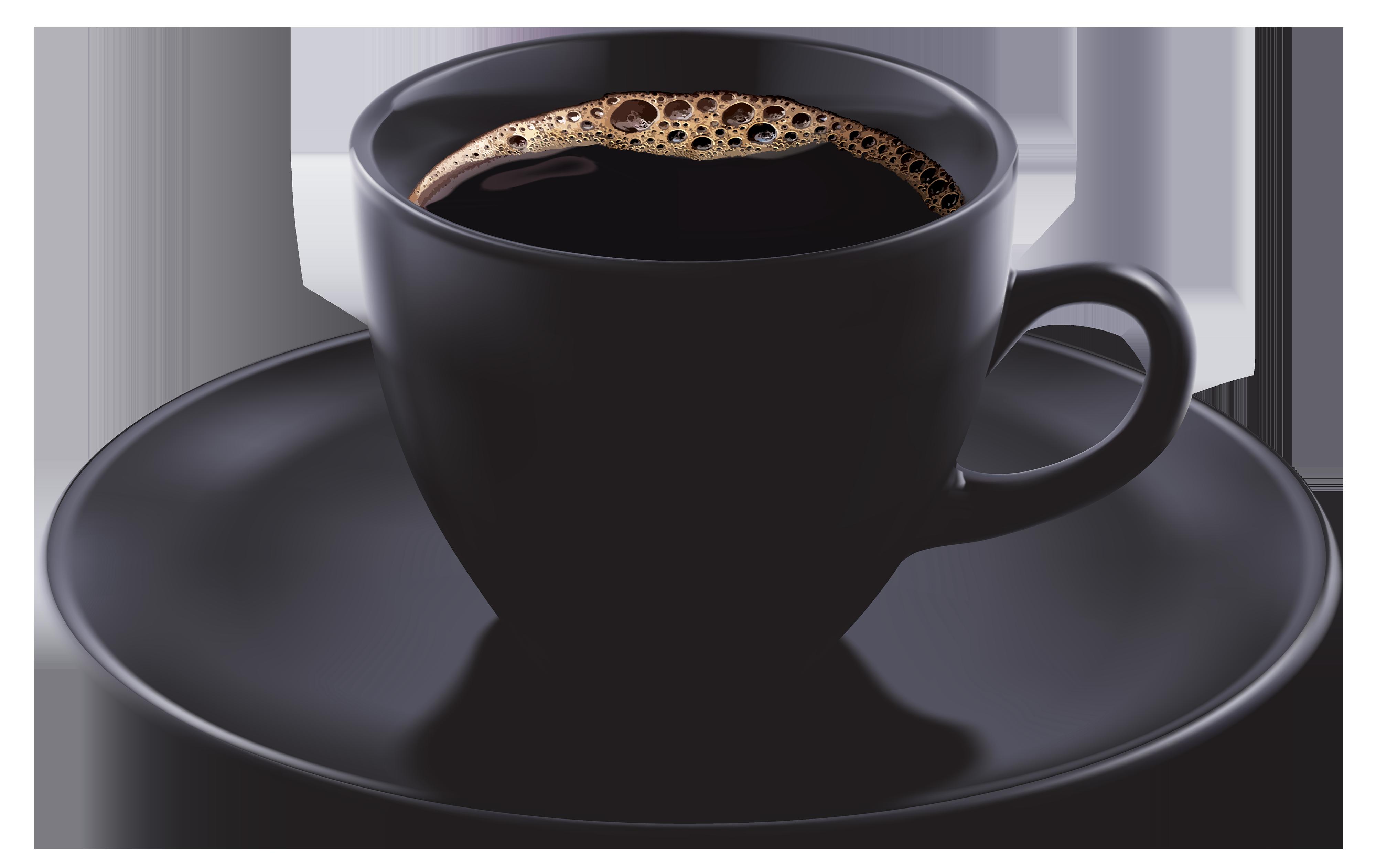 Black coffee cup png. Mug clipart glass mug
