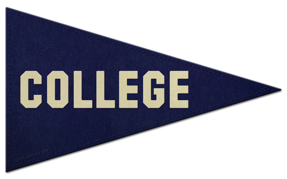 College clipart college acceptance.  collection of pennant