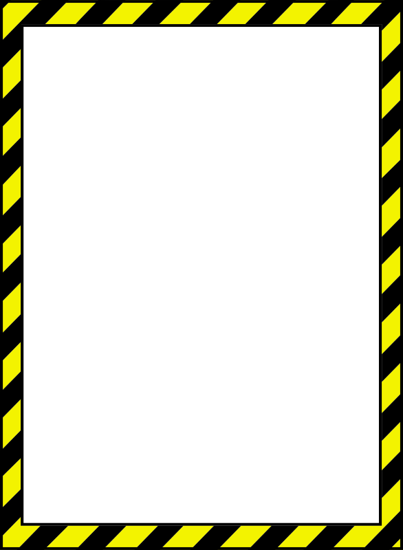 Clipart road border.  collection of construction
