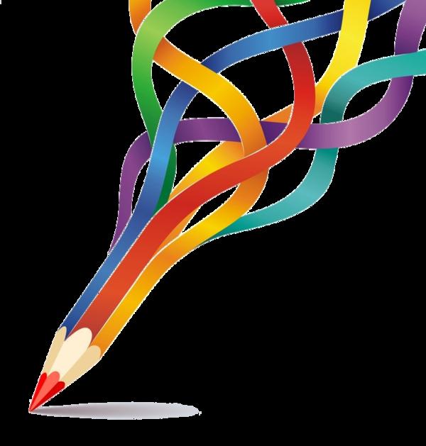 Handwriting clipart crayon. Crayons de couleurs articles