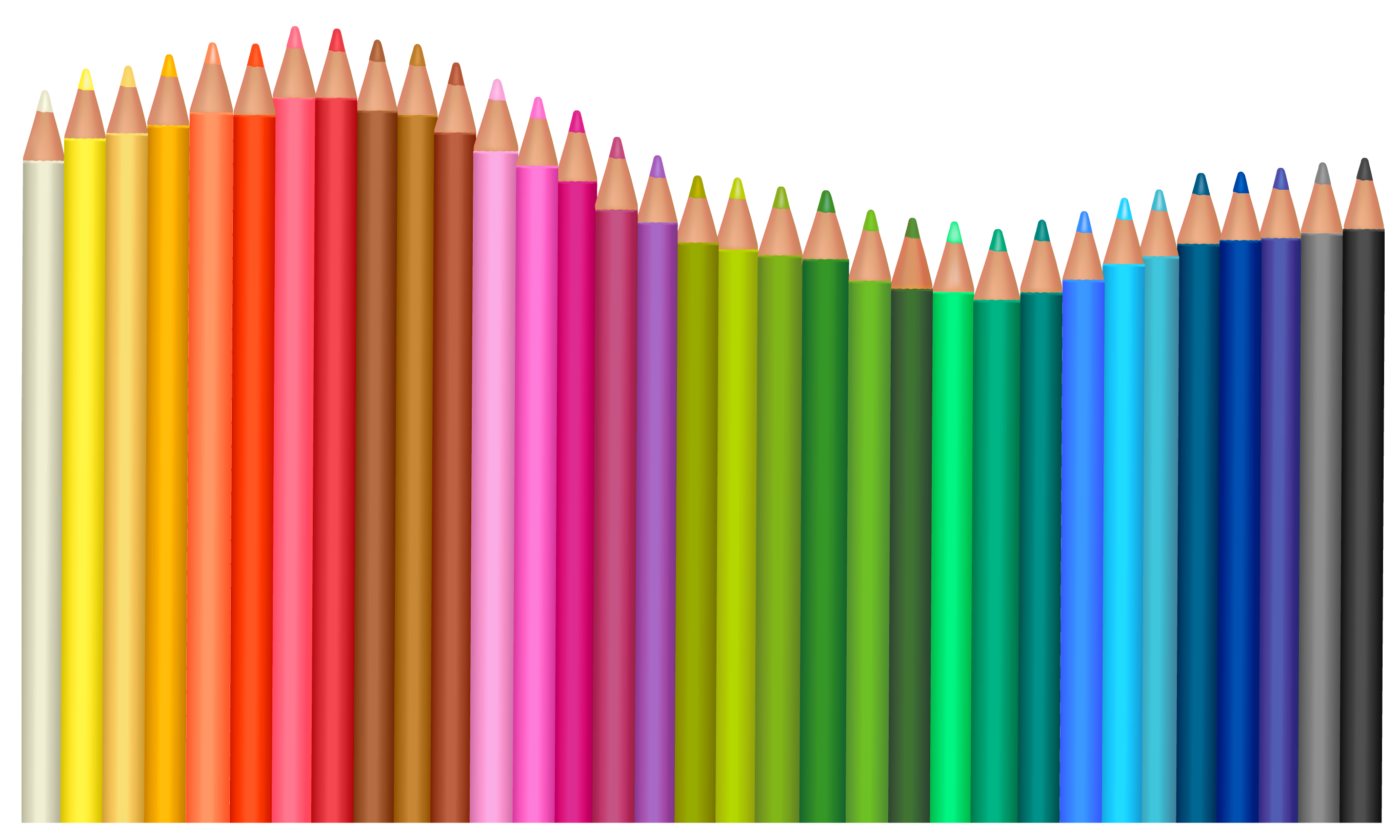 Transparent pencils png vector. Pencil clipart stationery