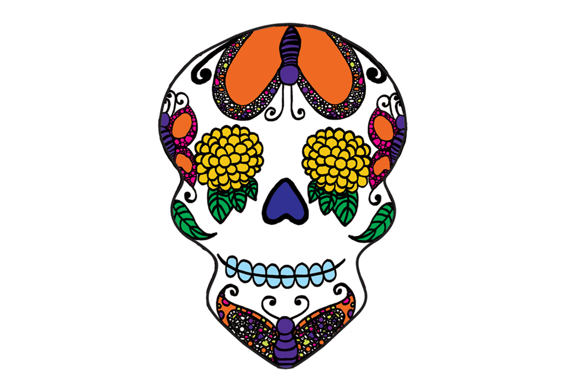 Day of the dead. Mexico clipart transparent