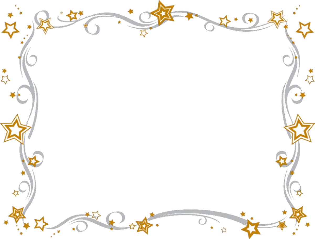 New year merry christmas. December clipart border