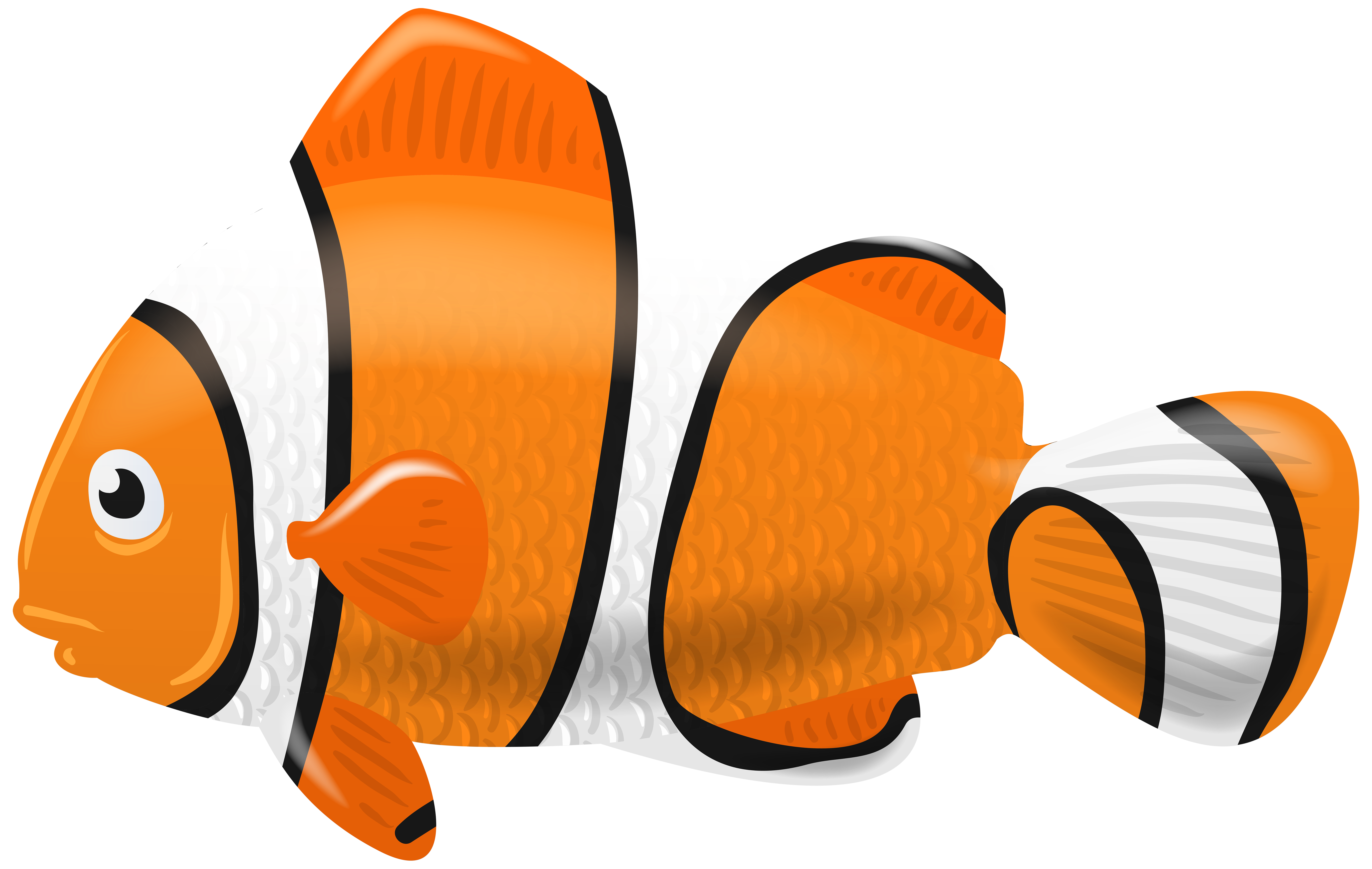 Fish png clip art. Clown clipart bow