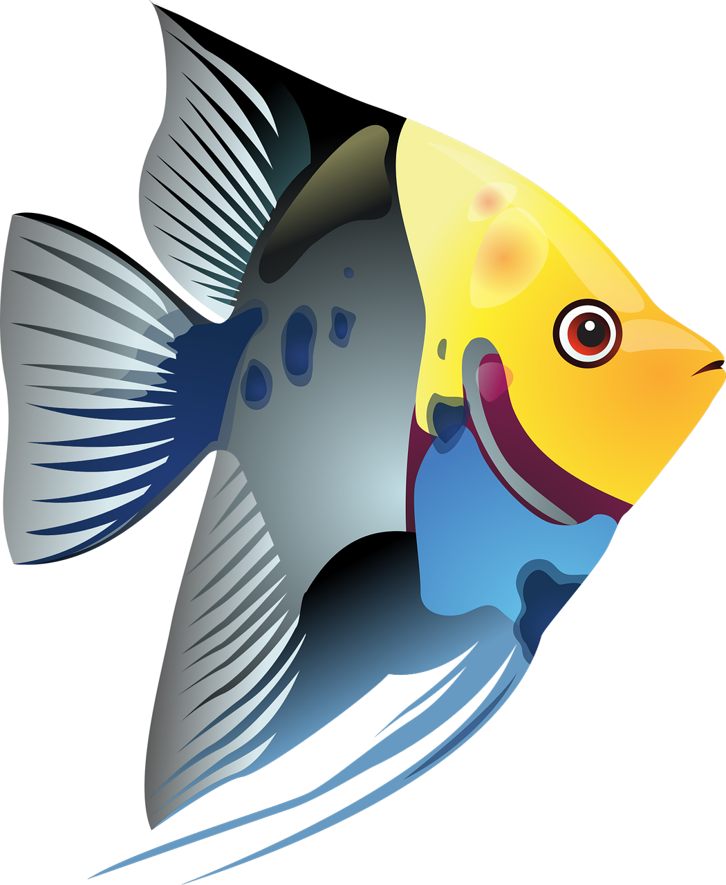 Clipart fish easy. Simple drawing at getdrawings