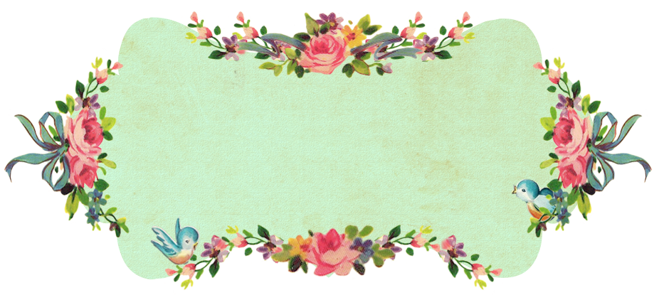 Flower banner png.  happy birthday fptfy