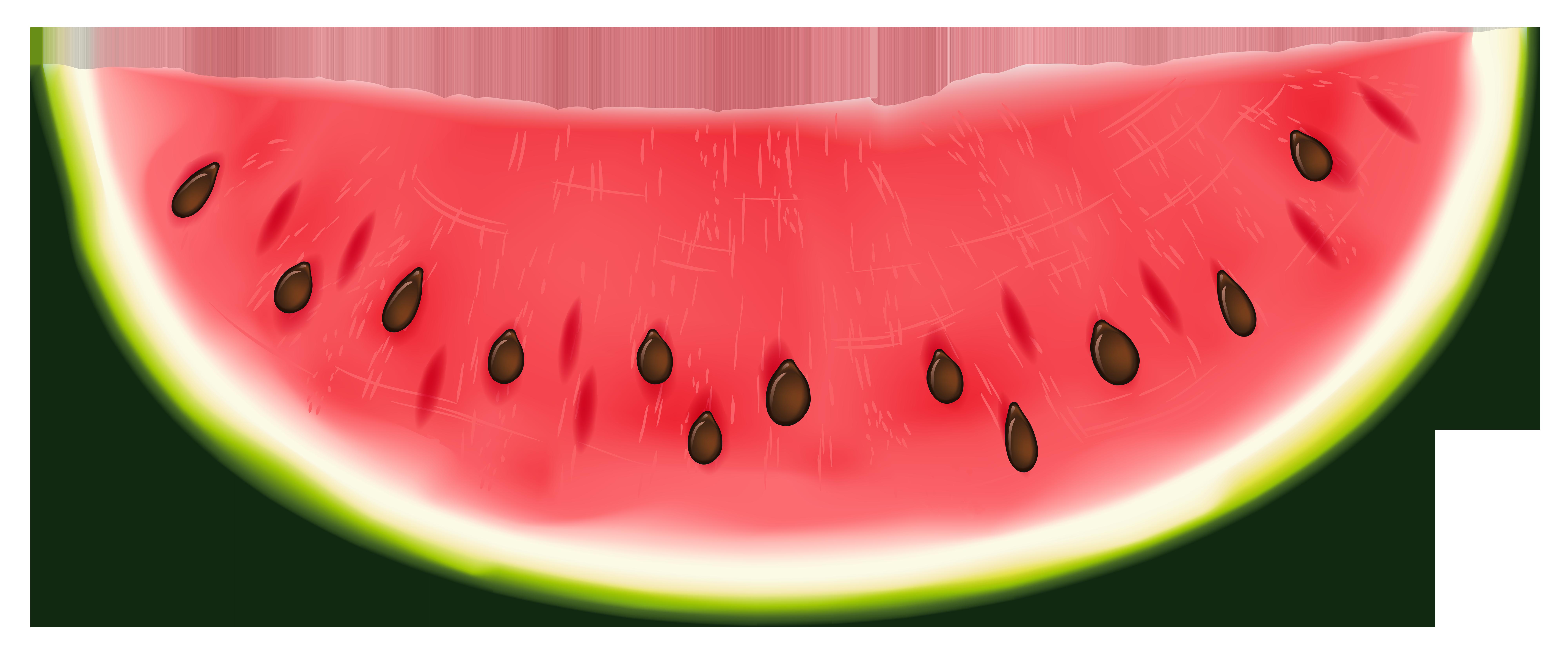 Watermelon clipart transparent background. Png clip art image