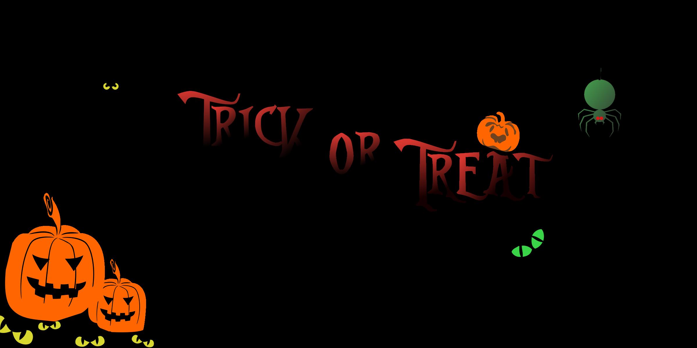 Clipart halloween outline. Banner remix big image