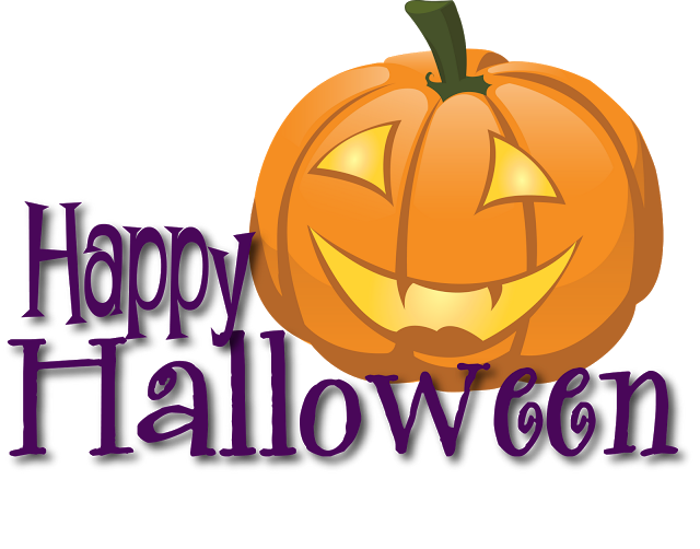 Free printable happy template. Clipart halloween banner