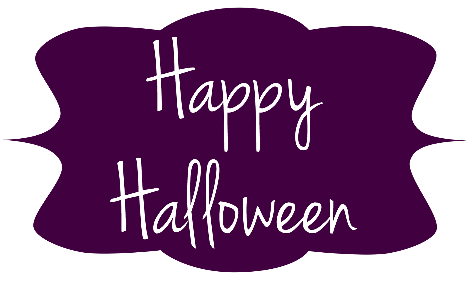 Happy clip art banner. Halloween clipart night