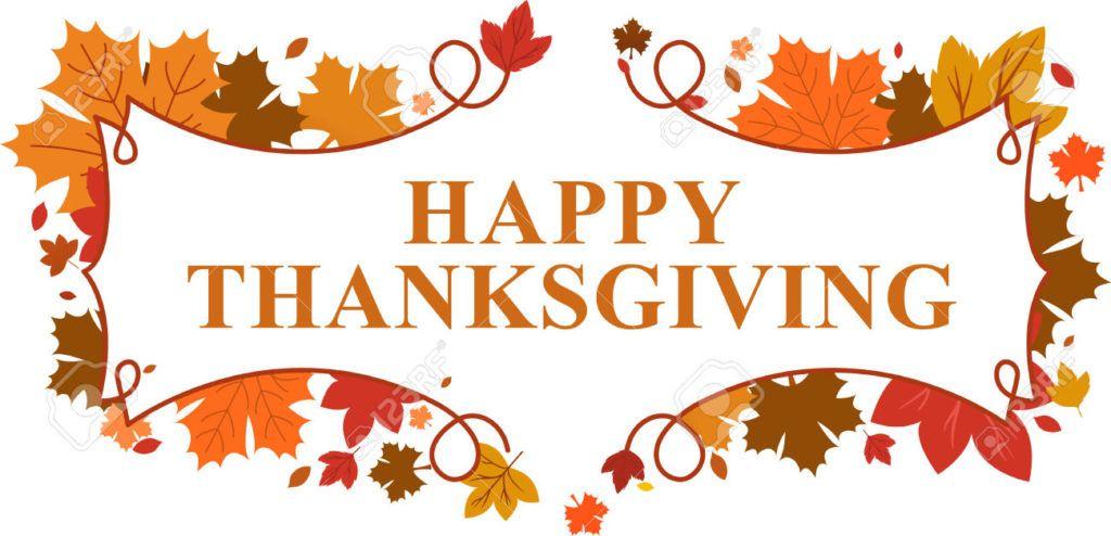 Happy . Clipart thanksgiving break