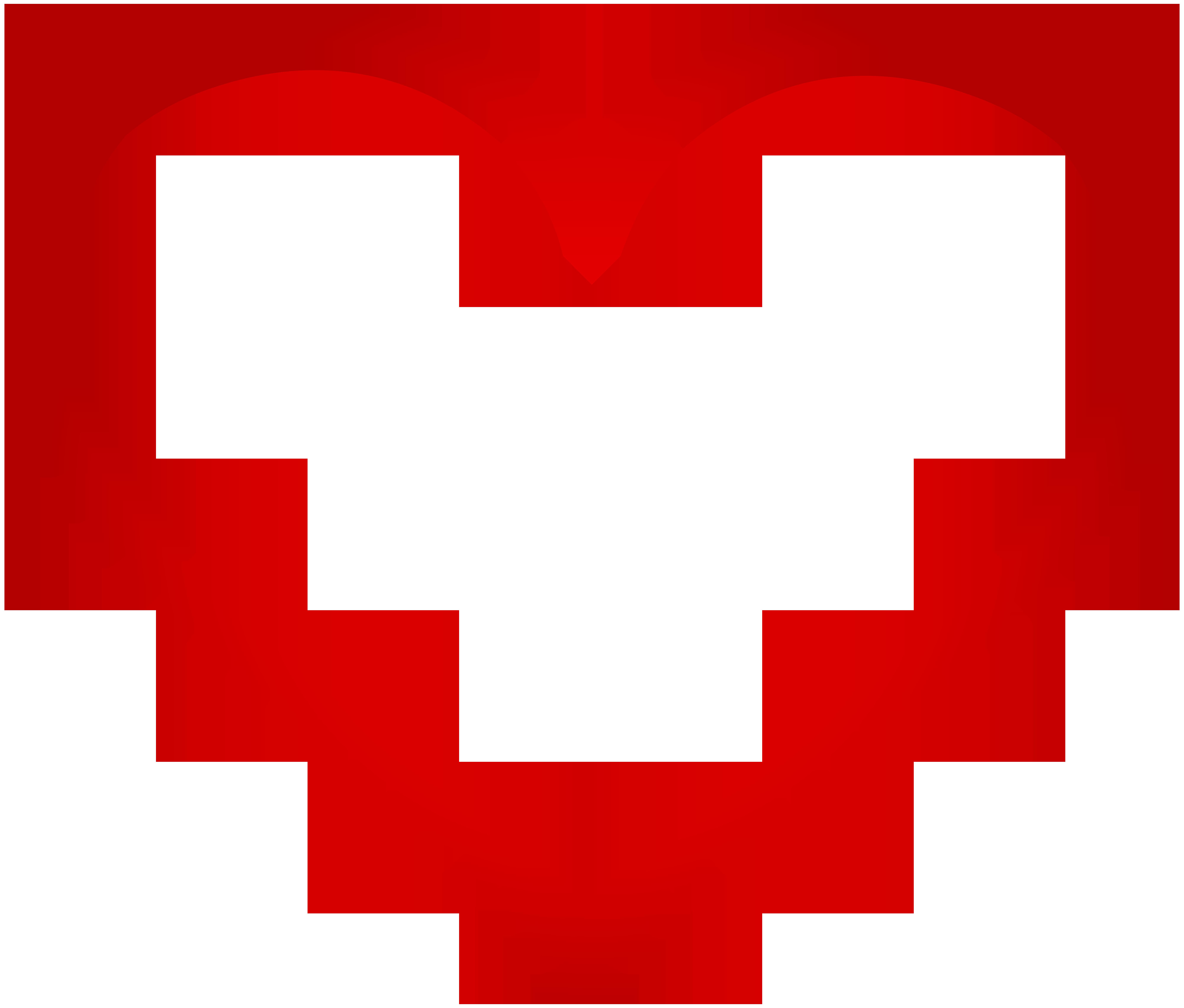 Red border frame transparent. Rock clipart heart