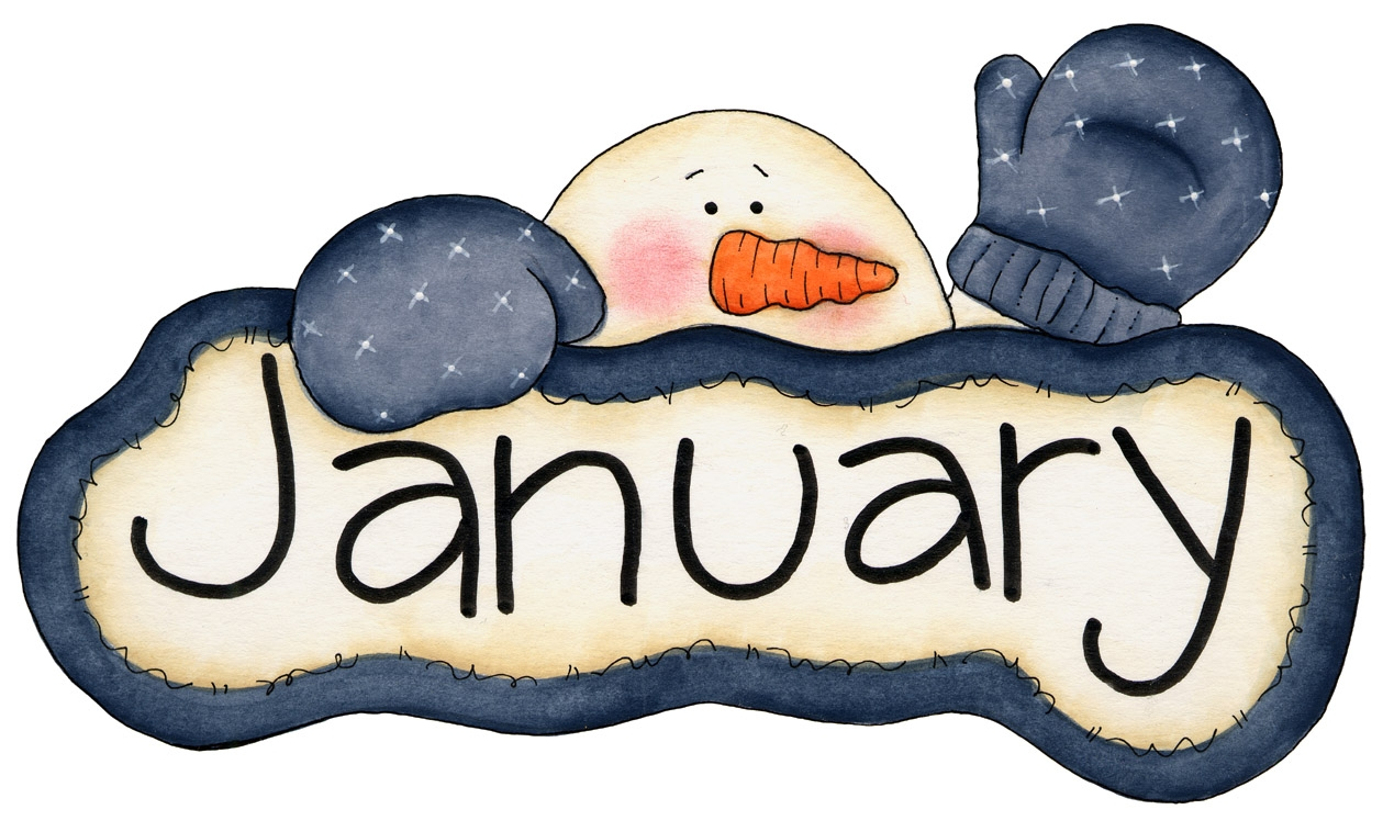 January clipart important. Free birthday cliparts download